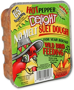 C&S Hot Pepper Delight No Melt Wild Bird Suet Dough