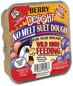 C&S Berry Delight No Melt Wild Bird Suet Dough