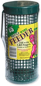 C&S Mini Wire Feeder for Wild Birds