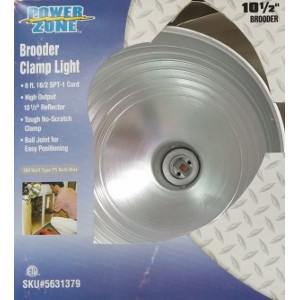 Power Zone Brooder Clamp Light