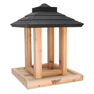 Nature's Way™ Cedar Gazebo Bird Feeder