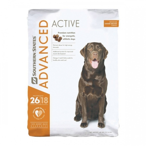 Southern States Advanced Active Dog Food  - 40 lbs
