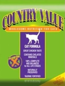 Country Value Cat Food - 20 lbs.