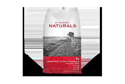 Diamond Naturals Lamb & Rice Meal For Adult Dogs - 20 lbs.