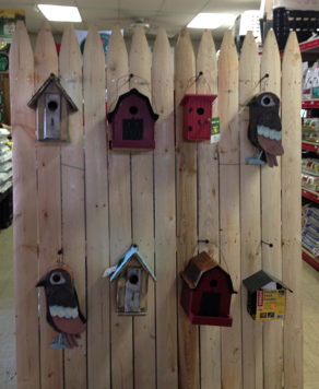 Hanging Bird Houses