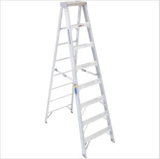Werner, Aluminum Step Ladder 8 ft.