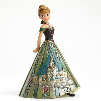 Frozen's Arendelle Royalty: Anna Castle Dress Figurine