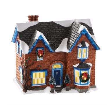 Original Snow Village: Gothic Revival Farmhouse