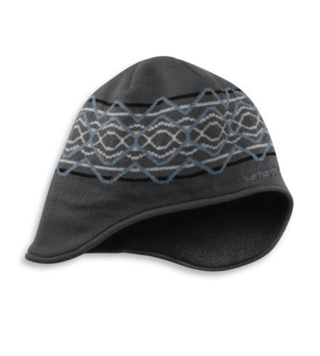 Ear Flap Cap Hat - Charcoal