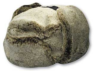 Faux Fur Trooper Hat Natural