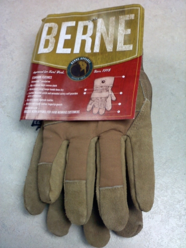 Insulated Glove - Brown - Medium