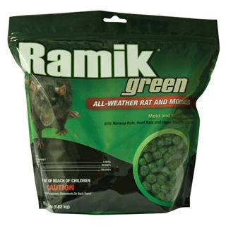 Ramik Green All-Weather Rat & Mouse Killer 4lb