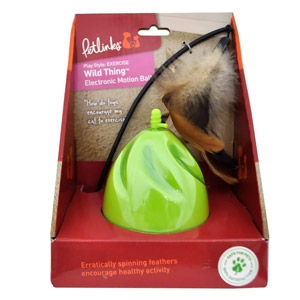 Petlinks® Wild Thing Electronic Motion Ball