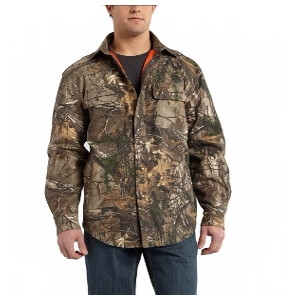 Men's Carhartt Original Fit Wexford Camo Shirt Jacket