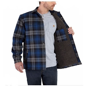 Men's Carhartt Hubbard Sherpa-Lined Shirt Jacket