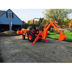 Kubota Loader/Backhoe Combo