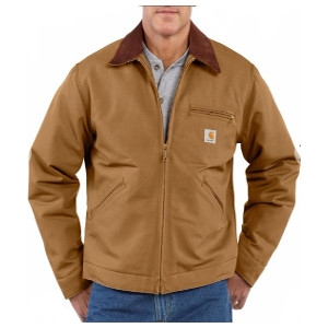 Men's Carhartt Duck Detroit Jacket/Blanket Lined Jacket
