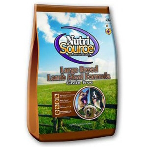 NutriSource® Large Breed Lamb Meal Grain Free Formula for Dogs