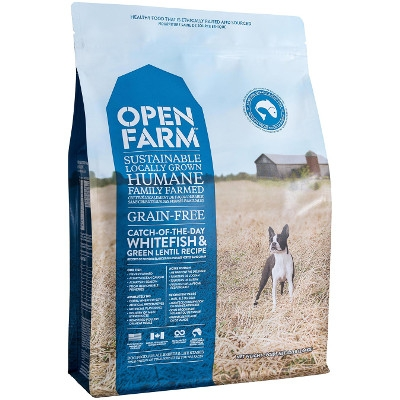Open Farm Catch of the Season: Whitefish & Green Lentil Dry Dog Food, 12 lbs