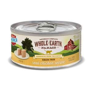 Whole Earth Farms Grain Free Real Chicken Pate Cat Recipe