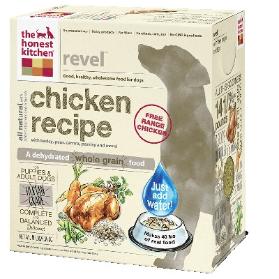 Revel Whole Grain Chicken Dog Food, 4 lb