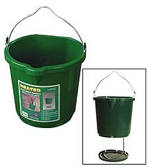 5 Gallon Heated Flat Back Bucket