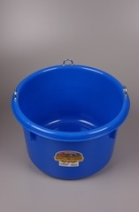 8 Gallon Blue Round Feeder