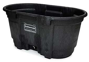 Brute Stock Tank - Black - 100 Gallon