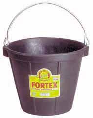 Duraflex 10QT. Rubber All Purpose Pail