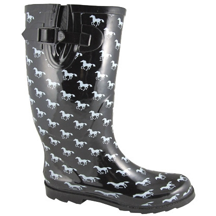 Smoky Mountain Rubber Boot - Pony Print