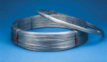 Bekaert Galvanized Smooth Wire 9GA 175' 10 lbs.