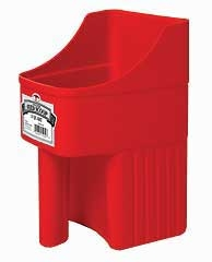 Enclosed Feed Scoop-3QT.-Red