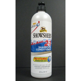 Absorbine Showsheen 2-In-1 Shampoo 20 oz.