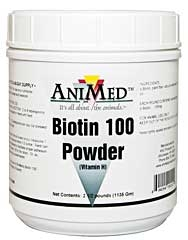 Animed Biotin 100 Powder (Vitamin H) 2.5 LB