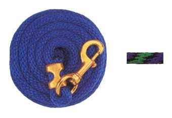 10' Poly Lead Rope - Assorted Colors