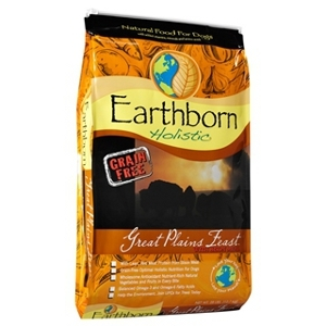 Earthborn Holistic Great Plains Feast Natural Grain-Free Dog Food 28lb