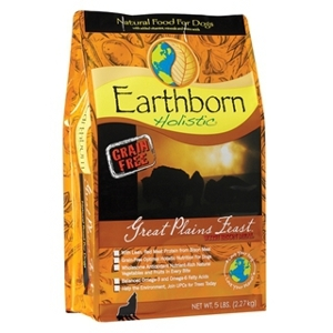 Earthborn Holistic Great Plains Feast Dog Food 5 lb