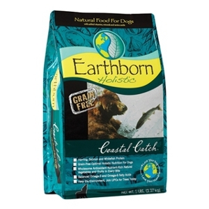 Earthborn Holistic Coastal Catch Dog Food 5 lb