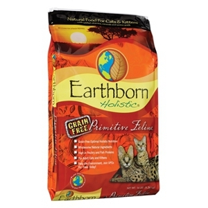 Earthborn Holistic Primitive Feline Natural Grain Free Cat Food 14 lb