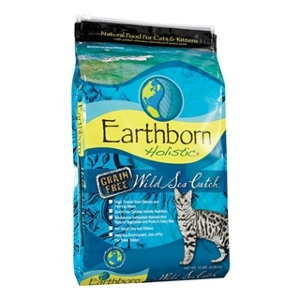 Earthborn Holistic Wild Sea Catch Natural Grain Free Cat Food 14 lb