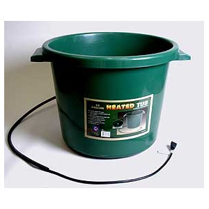 Farm Innovators 16 Gallon Heated Tub
