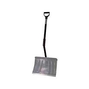 Rugg Back-Saver Aluminum Snow Shovel