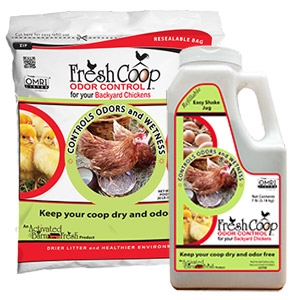 Fresh Coop™ Odor Control for Backyard Chickens