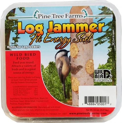 Pine Tree Farms Log Jammer Suet, Hi Energy
