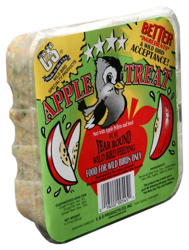 C and S Products Co., Inc. Apple Treat Suet