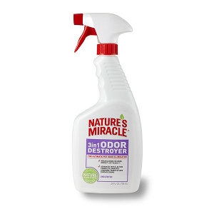 Nature's Miracle® 3-in-1 Odor Destroyer Spray-Unscented