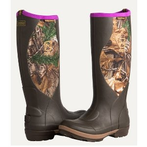 Noble Outfitters Women's Cold Front Camo High Boots