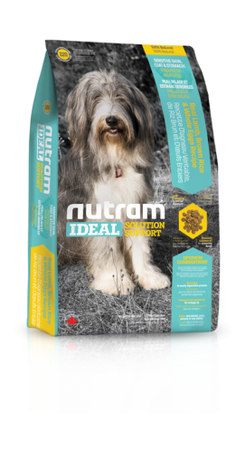 I20 Nutram Ideal Solution Support® Sensitive Skin, Coat & Stomach Natural Dog FoodLamb & Brown Rice with Whole Egg Re
