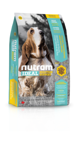 I18 Nutram Ideal Solution Support® Weight Control Natural Dog FoodChicken, Pearled Barley with Peas Recipe