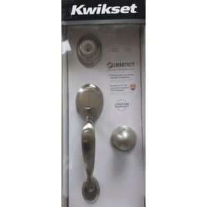 Door Handleset Satin- Nickel